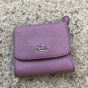 Coach Leather  short wallet